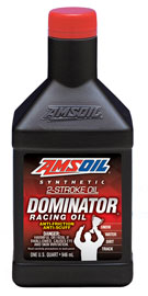 DOMINATOR Synthetic 2-Cycle Racing Oil